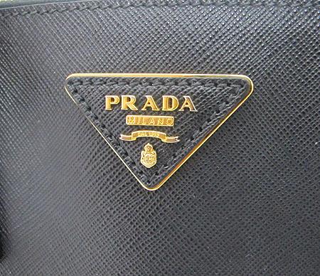 Prada(프라다) BN1786 블랙 사피아노 럭스 토트백 [분당매장]