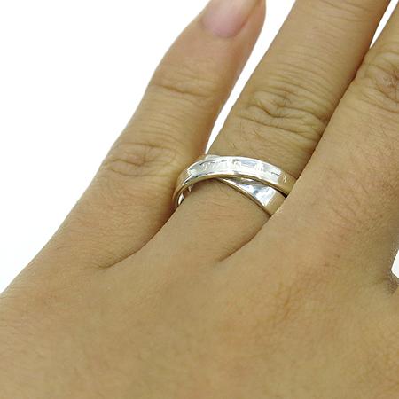 Tiffany(티파니) 925(실버)1837 인터라킹 서클 반지 - 11호