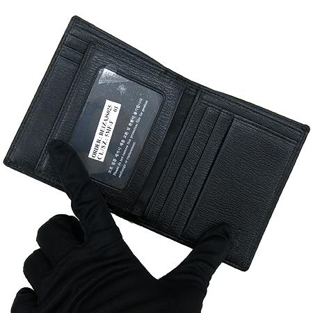 Bean Pole(빈폴) BE1ZA3S025 은장 로고 장식 남성용 반지갑