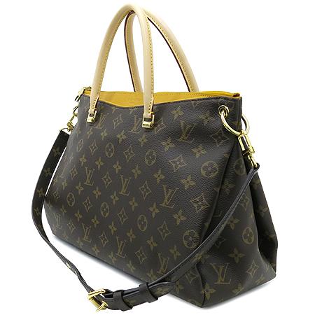 Louis Vuitton(루이비통) M40929 모노그램 캔버스 사프란 팔라스 토트백 + 숄더 스트랩