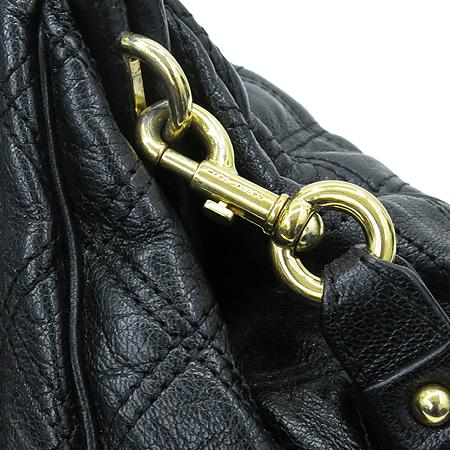 Marc_Jacobs(마크제이콥스) 블랙 퀄팅 미니 스탐 금장 체인 숄더백