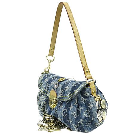 Louis Vuitton(루이비통) M95332 모노그램 데님 미니 프리티 레이에 Judy Blame 리미티드 에디션 숄더백