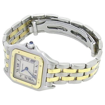 Cartier(까르띠에) 팬더 S사이즈 18K 두줄 콤비 여성용 시계 이미지2 - 고이비토 중고명품