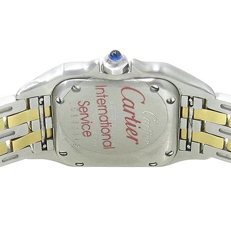 Cartier(까르띠에) 팬더 S사이즈 18K 두줄 콤비 여성용 시계