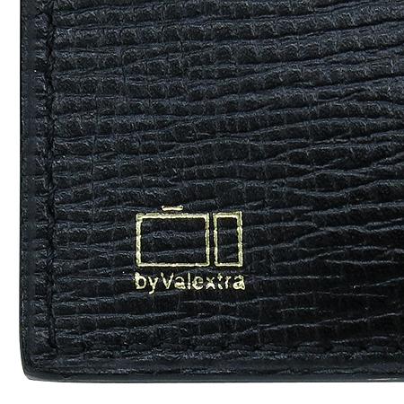 VALEXTRA(발렉스트라) 블랙레더 6크레딧카드 반지갑