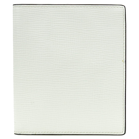 VALEXTRA(발렉스트라) 화이트레더 14크레딧카드 반지갑