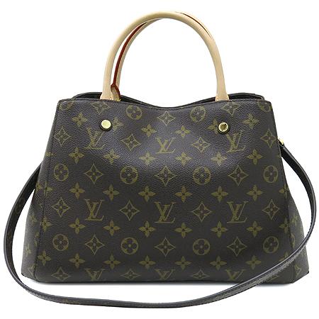 Louis Vuitton(루이비통) M41056 모노그램 캔버스 뉴 몽테뉴 MM 2WAY [명동매장] 이미지2 - 고이비토 중고명품