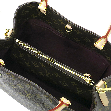 Louis Vuitton(루이비통) M41056 모노그램 캔버스 뉴 몽테뉴 MM 2WAY [명동매장] 이미지7 - 고이비토 중고명품