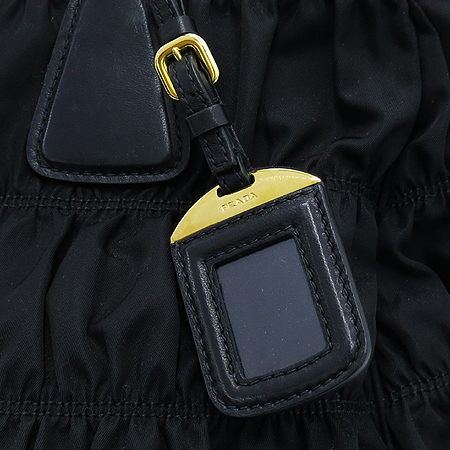 Prada(프라다) B1336M 블랙 패브릭 고프레 2WAY