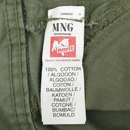 MNG(망고) 카키컬러 스커트