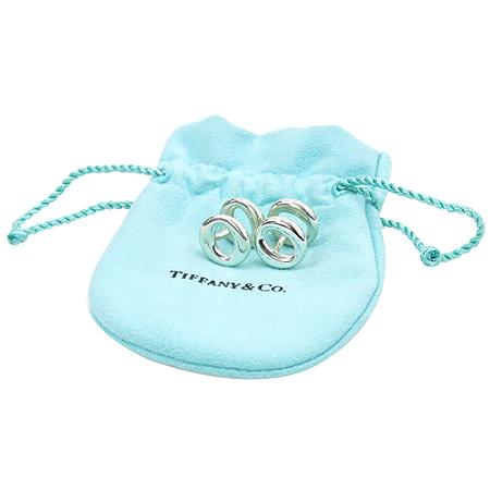 Tiffany(티파니) 925(실버) 엘사페레티 세비아나 커브스 버튼