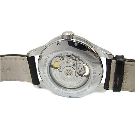 HAMILTON(해밀턴) H325650 JAZZMASTER OPEN HEART 시스루백 오토매틱 가죽밴드 남성용 시계 [부천 현대점] 이미지3 - 고이비토 중고명품