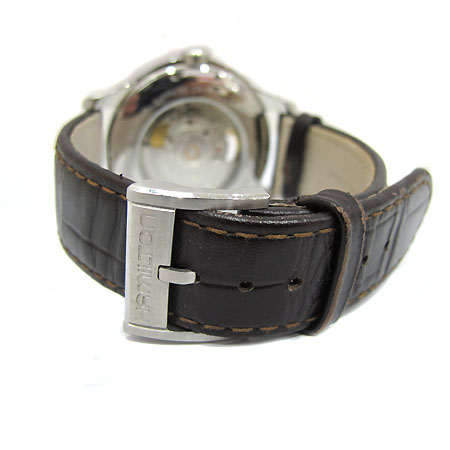 HAMILTON(해밀턴) H325650 JAZZMASTER OPEN HEART 시스루백 오토매틱 가죽밴드 남성용 시계 [부천 현대점] 이미지4 - 고이비토 중고명품