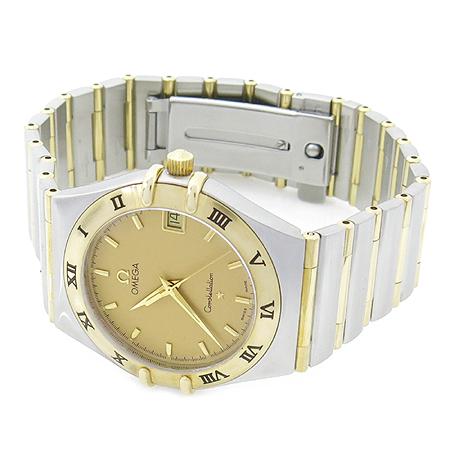 Omega(오메가) 18K 콤비 골드판 풀바 CONSTELLATION (컨스트레이션) 남성용 시계