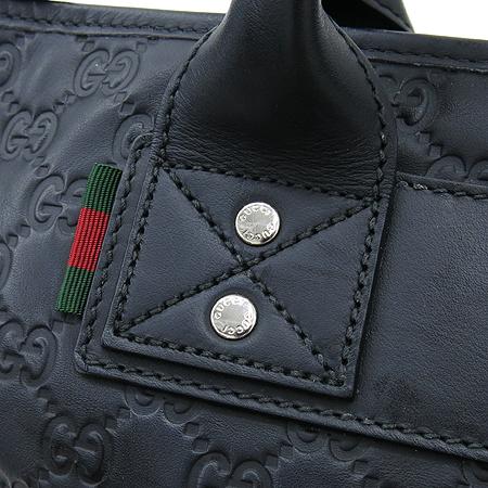 Gucci(구찌) 246392 AF66N 1060 GG로고 시마 블랙 삼선스티치 로고 스탬핑 토트백[부천 현대점]