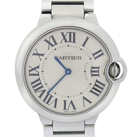 Cartier(까르띠에) W69011Z4 BALLON BLEU (발롱블루) M 사이즈 쿼츠 스틸밴드 남여공용 시계