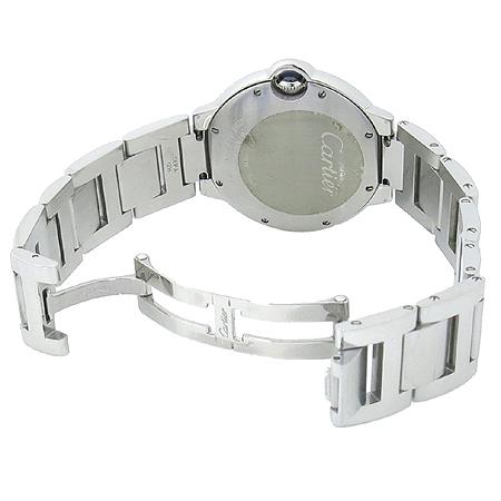Cartier(까르띠에) W69011Z4 BALLON BLEU (발롱블루) M 사이즈 쿼츠 스틸밴드 남여공용 시계 이미지3 - 고이비토 중고명품