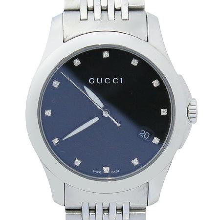 Gucci(����) YA126505 12����Ʈ ������ ��ƿ �ð� [�?����]