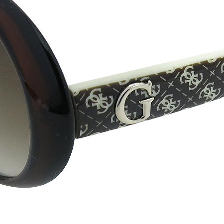 Guess(게스) GUA 1013 측면 로고 장식 뿔테 선글라스