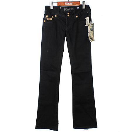 Miss Me jeans(미스미진) 금장버튼 블랙 진