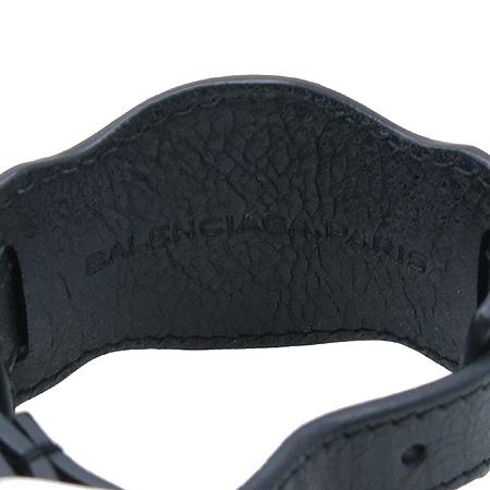 Balenciaga(발렌시아가) 자이언트 싱글 블랙 레더 팔찌 [명동매장]
