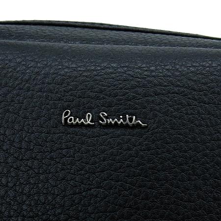 Paul Smith(폴스미스) P345210005 블랙 컬러 레더 남성용 토트백 + 숄더 스트랩 이미지4 - 고이비토 중고명품