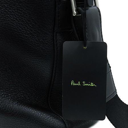 Paul Smith(폴스미스) P345210005 블랙 컬러 레더 남성용 토트백 + 숄더 스트랩