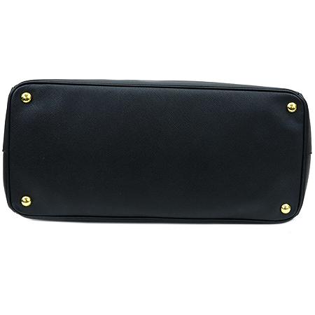 Prada(프라다) BN1844 블랙 사피아노 럭스 금장 로고 토트백 [명동매장]