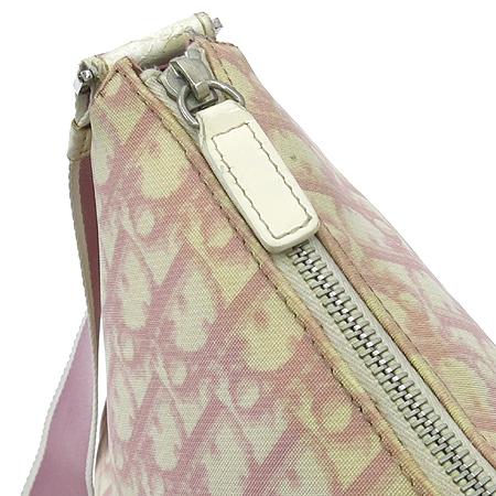 Dior(크리스챤디올) 로고 PVC 핑크 크로스백