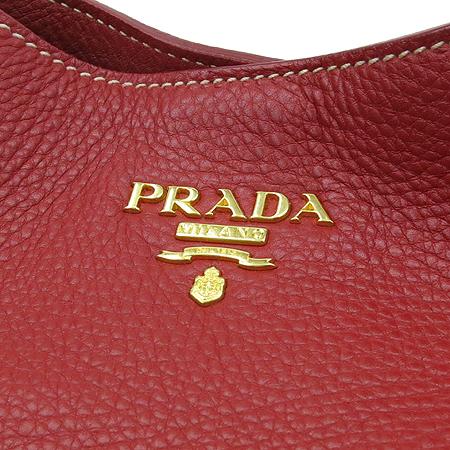 Prada(프라다) BR4829 골드 메탈 로고 VIT. DAINO(송아지가죽) 숄더백 이미지5 - 고이비토 중고명품