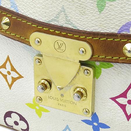Louis Vuitton(루이비통) M92661 모노그램 멀티 화이트 소론뉴 크로스백