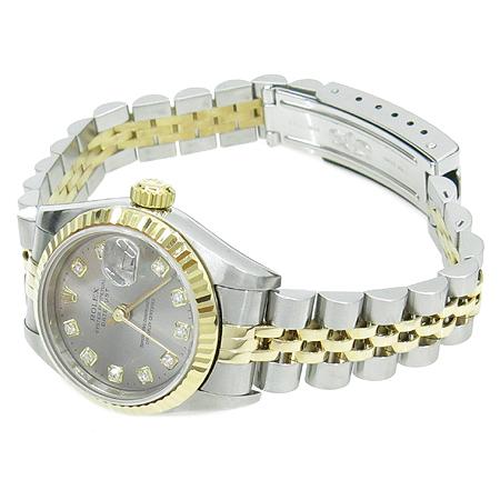 Rolex(로렉스) 69173 18K 콤비 DATE JUST(데이트 저스트) 여성용 시계 [압구정매장]