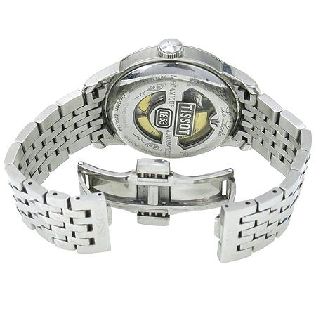TISSOT(티쏘) TISSOT(티쏘) T41.1.483.33 르 로끌(Le Locle) 시스루백 오토매틱 스틸 남성용 시계