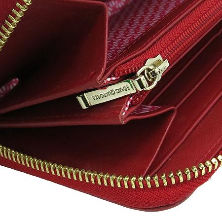 Louis_Quatorze(루이까또즈) 로고 페이던트 짚업 장지갑