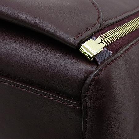 MULBERRY(멀버리) HH1630 WILLOW(윌로우) 금장 로고 레더 쇼퍼 토트백 [명동매장]