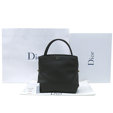 Dior(크리스챤디올) M1051OVSW BAR BAG (바백) 소프트카프 스킨 그레이 금장로고 토트백