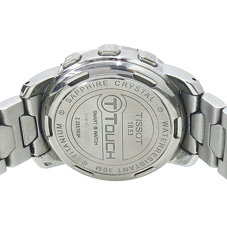 TISSOT(티쏘) T33.7.888.92 T-TOUCH(티터치) 티타늄 스틸 남성용 시계