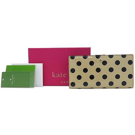 KATESPADE (케이트스페이드) KKSGFKZ09FF1.255 도트 패턴 페이던트 여성용 장지갑