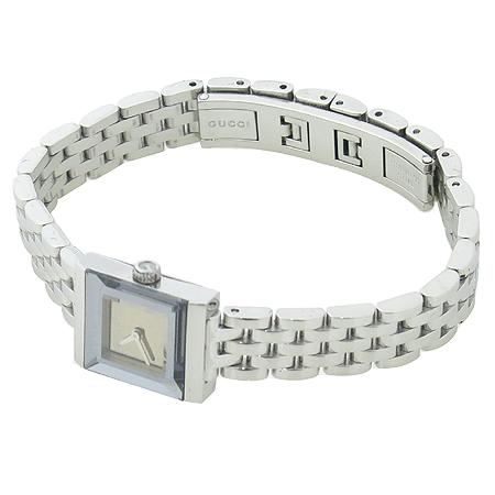 Gucci(구찌) YA128501 G프레임 스퀘어 브라운 레이디스 여성용 시계 이미지2 - 고이비토 중고명품