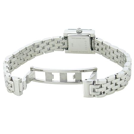 Gucci(구찌) YA128501 G프레임 스퀘어 브라운 레이디스 여성용 시계 이미지3 - 고이비토 중고명품