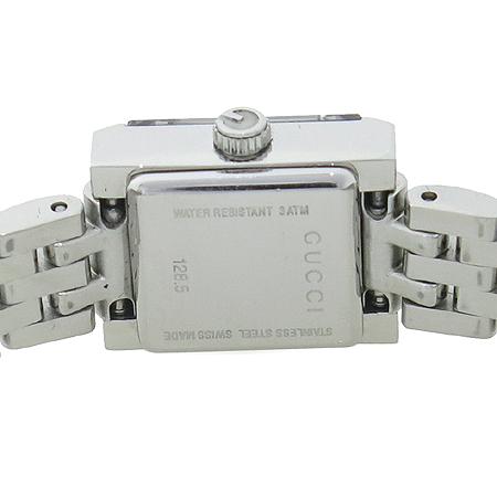 Gucci(구찌) YA128501 G프레임 스퀘어 브라운 레이디스 여성용 시계 이미지4 - 고이비토 중고명품