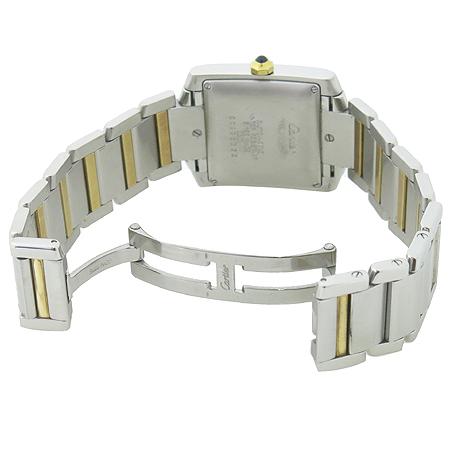 Cartier(까르띠에) W51005Q4 탱크 프랑세즈 18K 콤비 L사이즈 오토매틱 남성용 시계