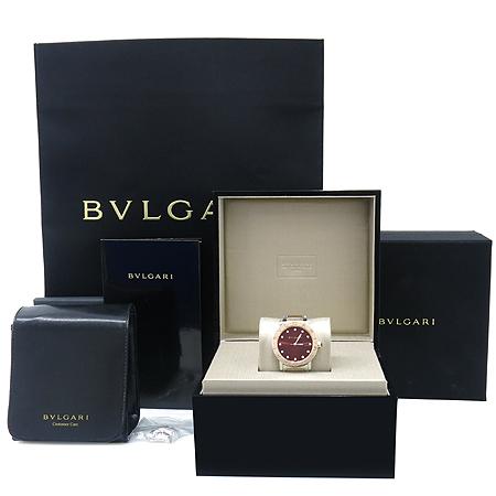 Bvlgari(불가리) BBL33C11SPG BVLGARI BVLGARI(불가리불가리) 18K 로즈골드 12포인트 다이아 스틸 콤비 여성용시계