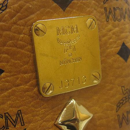 MCM(엠씨엠) MWK1SVE01CO001 비세토스 슈타크 브라운 M사이즈 백팩 [명동매장] 이미지5 - 고이비토 중고명품