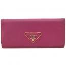 Prada(프라다) 1M1132 삼각 로고 장식 사피아노 장지갑 [강남본점]