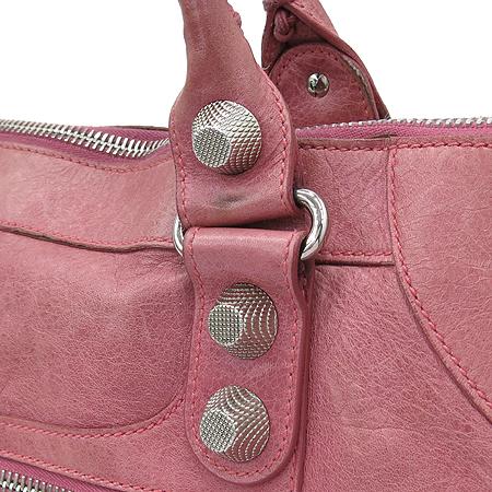 Balenciaga(발렌시아가) 173080 핑크 레더 자이언트 워크 토트백 + 보조 거울  [대구동성로점] 이미지4 - 고이비토 중고명품