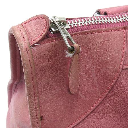 Balenciaga(발렌시아가) 173080 핑크 레더 자이언트 워크 토트백 + 보조 거울  [대구동성로점] 이미지5 - 고이비토 중고명품