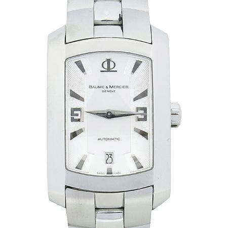 Baume&Mercier(보메메르시에) Hamptom Milleis(햄튼 밀레이스) 사각 스틸 오토매틱 남성용 시계  [대구동성로점]