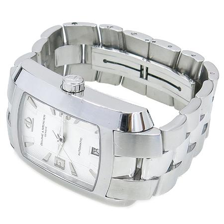 Baume&Mercier(보메메르시에) Hamptom Milleis(햄튼 밀레이스) 사각 스틸 오토매틱 남성용 시계  [대구동성로점] 이미지2 - 고이비토 중고명품