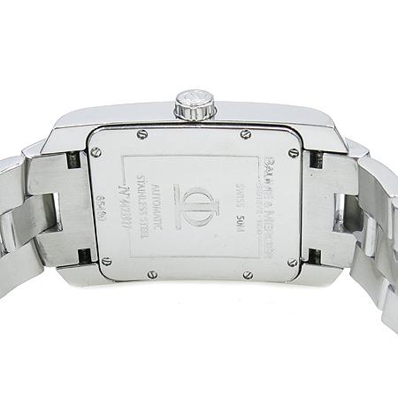 Baume&Mercier(보메메르시에) Hamptom Milleis(햄튼 밀레이스) 사각 스틸 오토매틱 남성용 시계  [대구동성로점] 이미지4 - 고이비토 중고명품